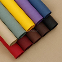 Color ECO-friendly linen gift wrapping paper for gifts or books