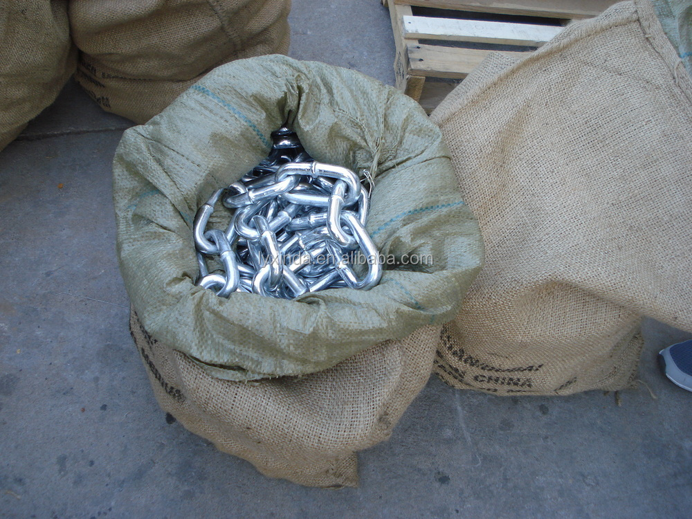 zinc plated/galvanised short/medium/long link chain