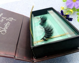 black and green eyelashes packaging brand your own eyelashes boxes lash storage