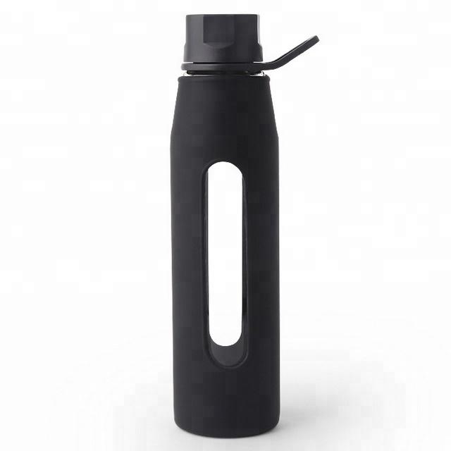 20oz di Alta Borosilicato Bottiglia di Acqua di Vetro