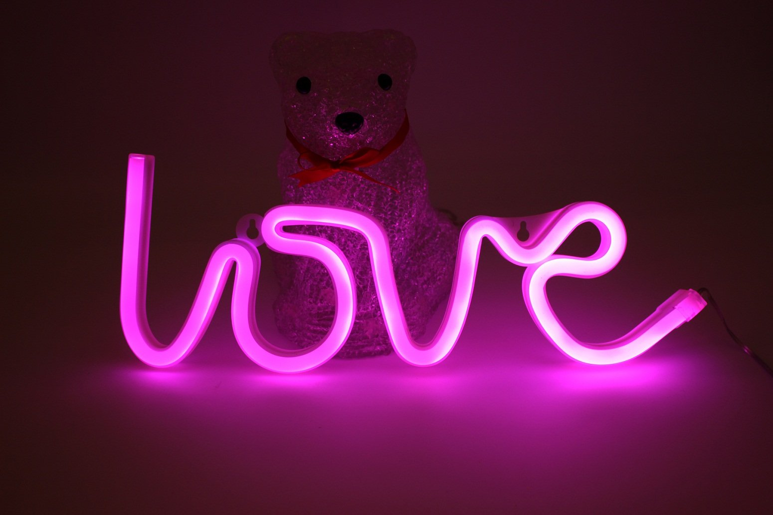 Buy Pink Love Neon Signs Led Light 6 12 Inch Usb Or Battery Powered Decorative Lights For Teen Girls Bedroom Bar Pub Hotel Party Kids Home Dorm Aesthetic Room Wall Decor In Cheap