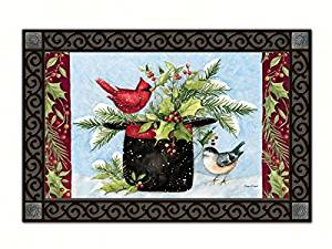 Magnet Works MAIL11008 Holly Hat Mat Mate