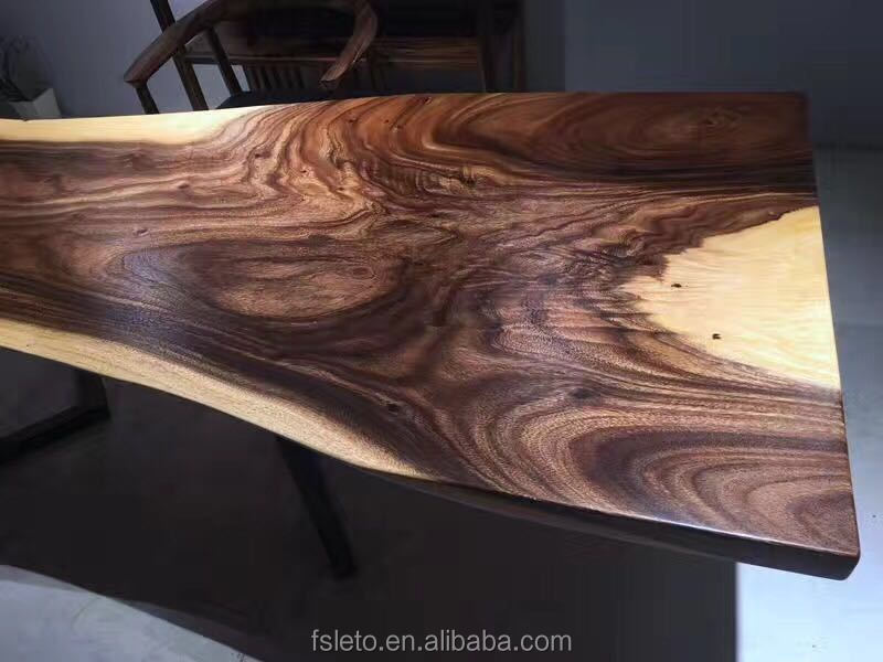 Liefde Walnoot Hout : Zuid amerika walnoot slab hout voor live edge diner tafel live
