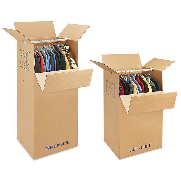 World best selling products economic custom sturdy corrugated wardrobe box folding box
