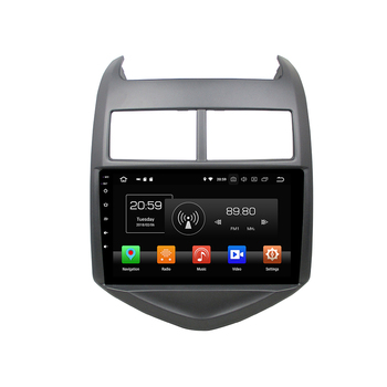 KD-9804 klyde android car dvd for AVEO 2011-2015 audio radio gps radio with 9 inch touch screen octa core