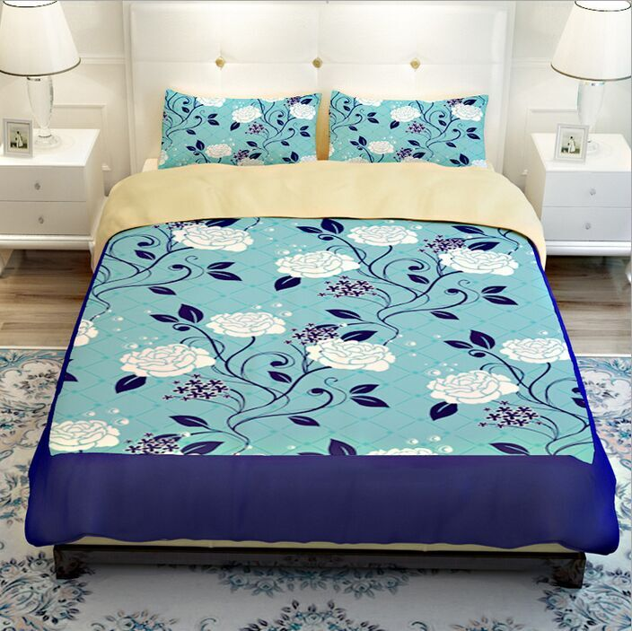 Popular Turquoise Floral Bedding Buy Cheap Turquoise