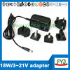 9v 1.5a multiple plug power supply 12v 5v 7v 9v 12v 19v 21v 24v with eu us au uk plug