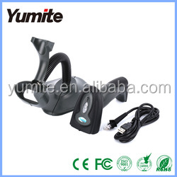 Best price YT-760A Barcode Scanner bar Code Reader Laser Barcode Scanner Wireless/Wired For Windows CE