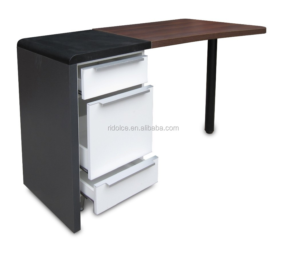 Nail table free nail table nail art manicure tables with for Cheap nail desk