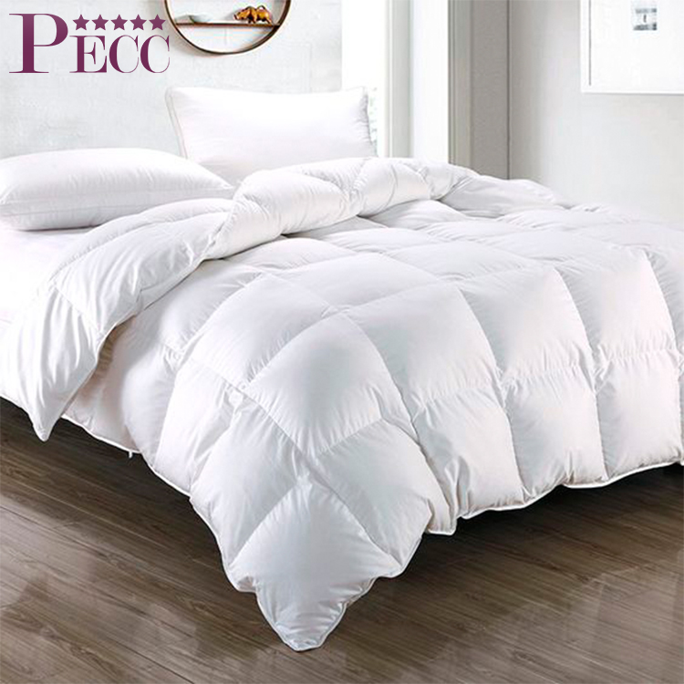 300TC Cotton Cover Goose Down/Feather Queen Size Comforter