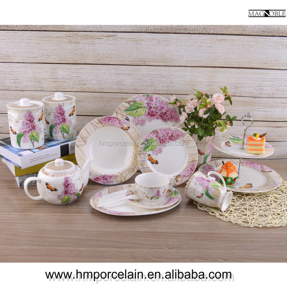 Alibaba proveedores de china de cer mica vajillas de - Vajilla de porcelana ...