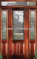 Exterior Doors Design With Side Lites And Transom DJ-S9111MSTHS