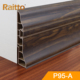 Raitto pvc floor skirting and plastic plinth for indoor decoration