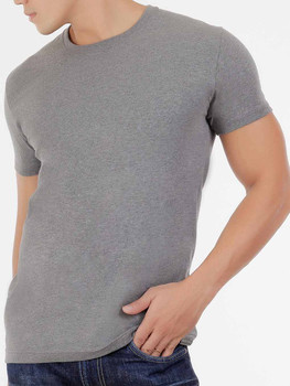 Melange Round Neck Shirt