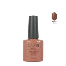 Color 40514 CNF 7 3ml 79colors 1pcs lot 2015 Professional LED UV Nail Gel Polish UV
