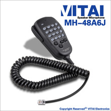 VITAI MH-48A6J ביצועים גבוהים רכב <span class=keywords><strong>רדיו</strong></span> מיקרופון עבור FT-3000, FT-7100, FT-7800R, FT-8100 וכו '.