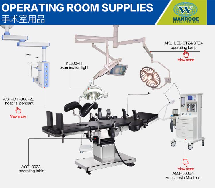 Ziekenhuis Instrument Elektrische C-arm Chirurgische Universele Operatietafel Prijs