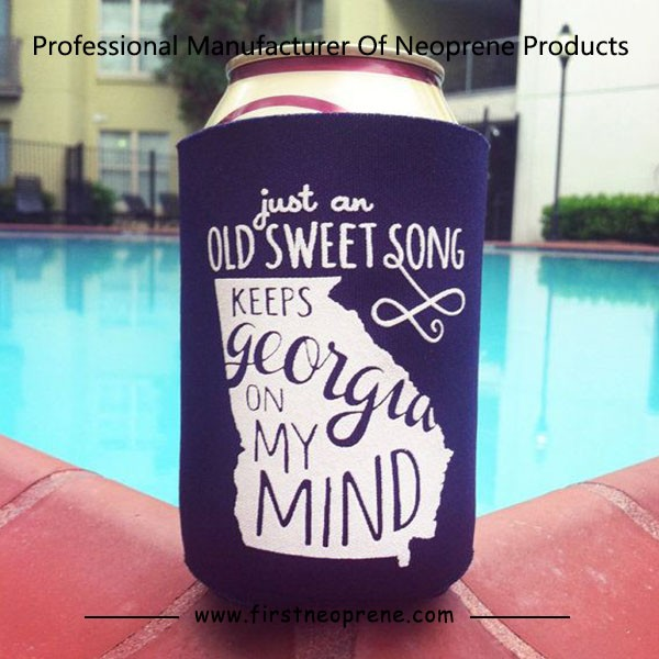 Just An Old Sweet Song Dark Purple Foam Drink Can Cooler
