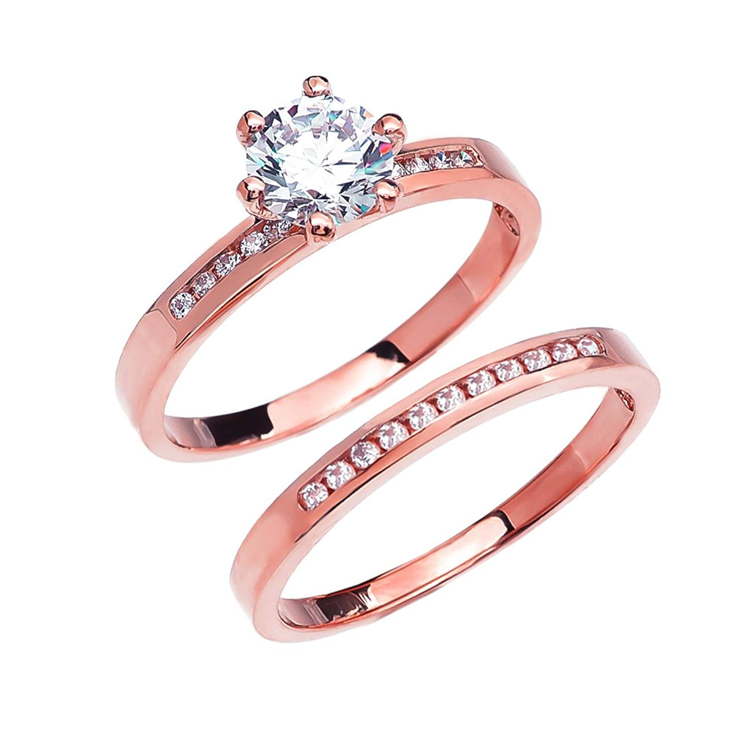Cheap Rose Gold White Topaz Ring, find Rose Gold White Topaz Ring ...