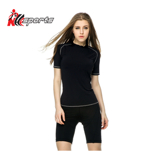 Promotional custom sublimation compression shirt/oem wholesale compression shirts