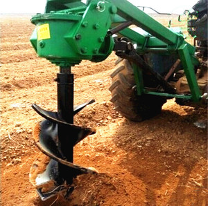 Earth Auger Tractor Drilling Machine
