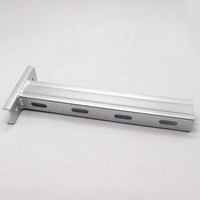 hot dipped galvanized wall mounted bracket arm for cable tray