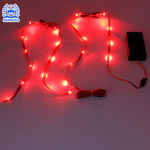 3V-6V Battery Operated LED Line Light Strip For Decorating Tent Handbag Gloves Hat Cap etc Products