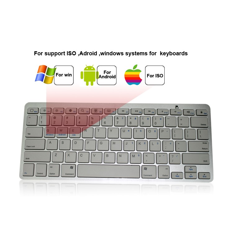 For Apple/android/windows Bluetooth Mini Wireless Keyboard