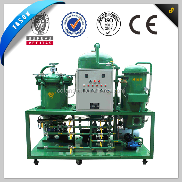 Dirty diesel regenerate decolor water remove filter machinery