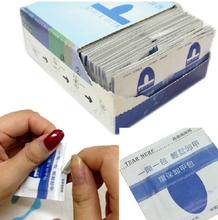 10pcs New tech UV nail gel remover soak off nail gel remover nail polish remover pad