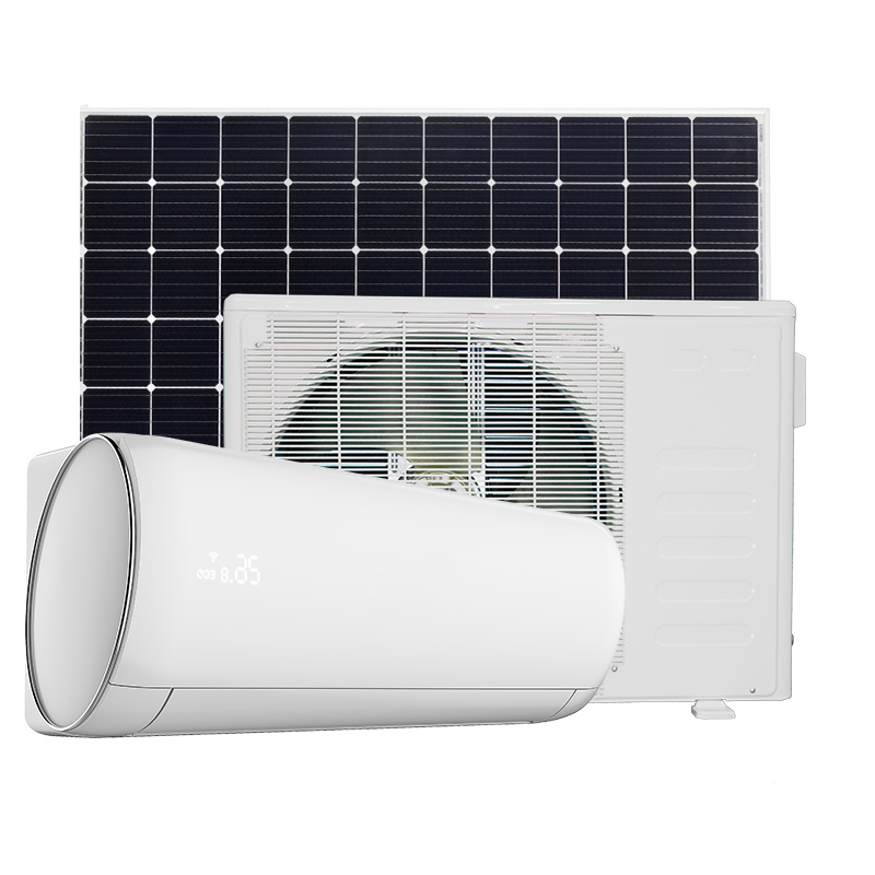 Hohe qualität AC/DC Hybrid solar powered air conditioner 24000 BTU