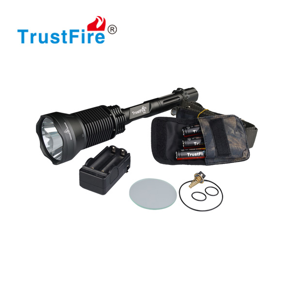 Trustfire X6 with one sst-90 led high power LED tactical torch 5 Mode 2300 Lumens with 3*18650