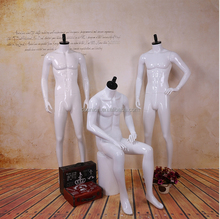 High quality full body ghost male mannequins
