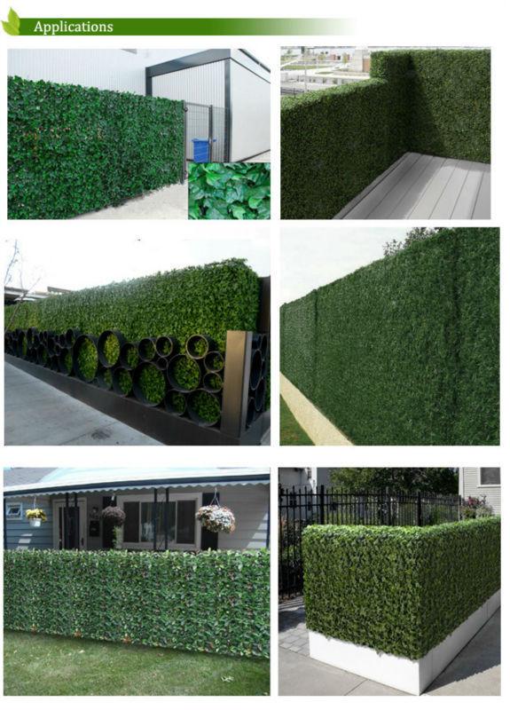 Mallas met licas con arbustos artificiales decorativos for Arbustos decorativos jardin
