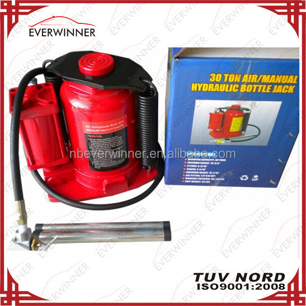 30 Ton Air Manual Hydraulic Bottle Jack