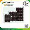 Bluesun good price mono 25W solar panels small led light solar panel 25w