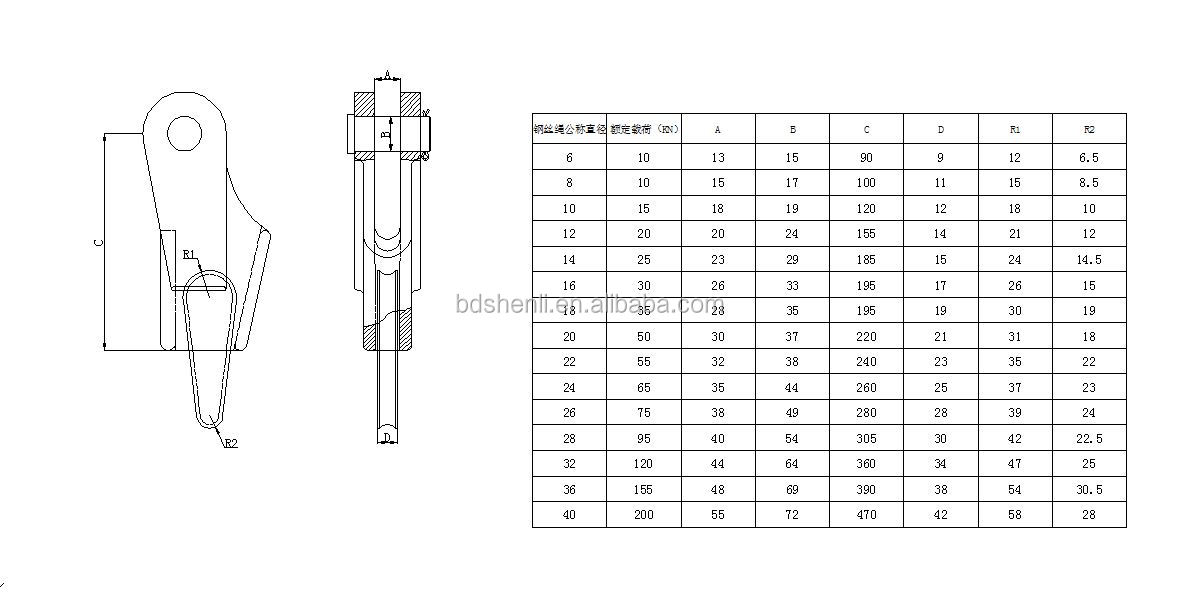 Wire Rope End Terminations Wedge Socket - Buy Wedge Socket For Wire ...