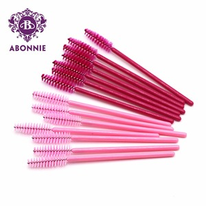Easy Remove Animation Professional Grade Synthetic Merchandise For Actor / Actress Clear Band Eye Lashes Brush