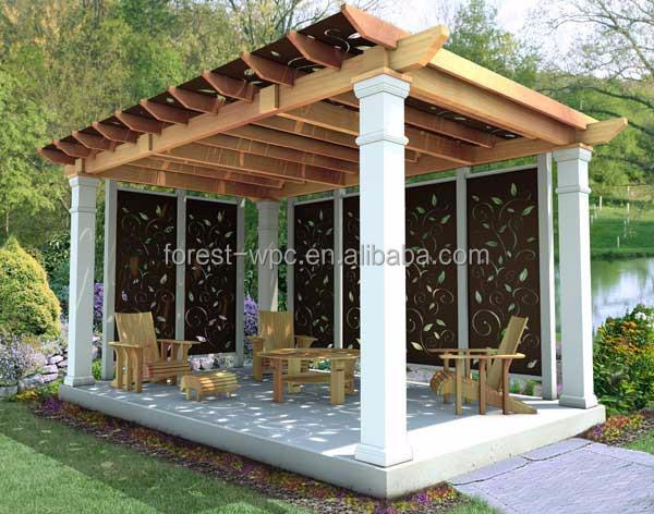 Innovativ kunststoff dach pavillon festen Dach pavillon im freien pavillon  UA29