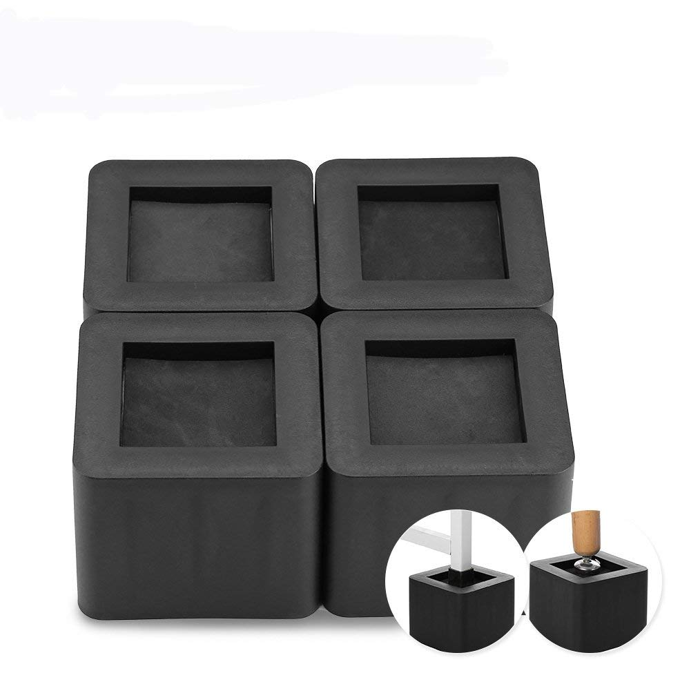 Astounding Buy Furniture Riser 4Pcs Set Bed Risers Bedding Lifts Machost Co Dining Chair Design Ideas Machostcouk