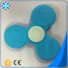 Custom food grade silicone hand spinner