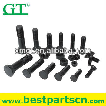 PB1/2*1 1/2 plow bolt and nut