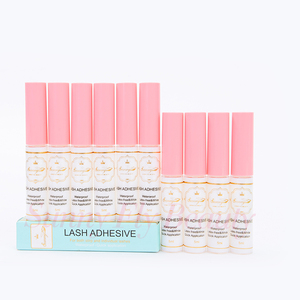 Blink latex free wholesale white safe ingredients power false eyelash glue