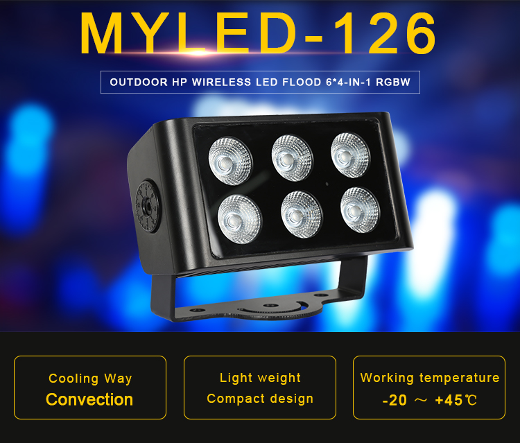 High Brightness IP66 Outdoor Flood Light LED Flood Light For Wall Exterior Decorative Lighting