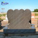 Cheap natural granite monument headstone for graves NTST-024Y