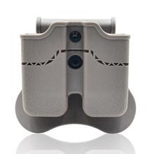 Двойной тактический мешочек Amomax для журнала Tokyo Marui/WE/ KJW/KSC/KWA Sig P226/Beretta M9 Mags - Black(Китай)