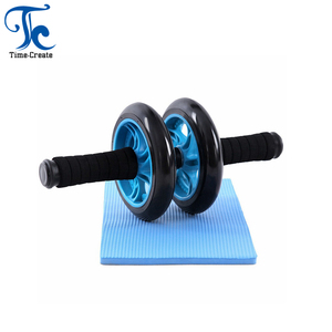 AB Wheel Roller for Ab Exercises Stretches Lose Belly Fat Strength Muscles Building with Knee Mat