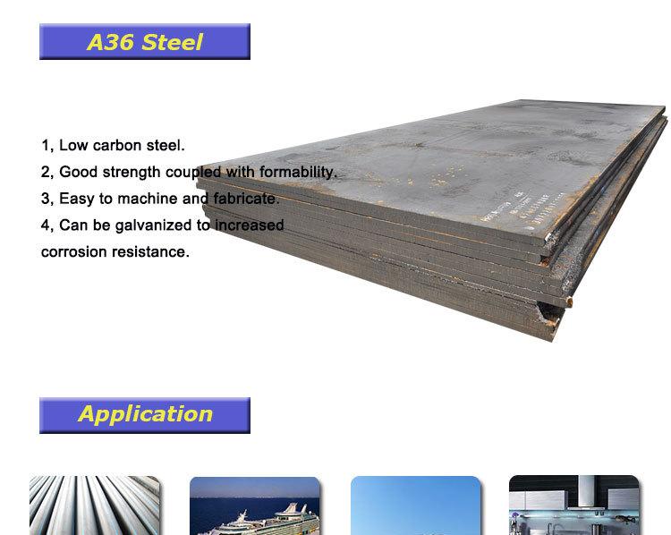 Shipbuilding Steel A36 Mild Steel Plate