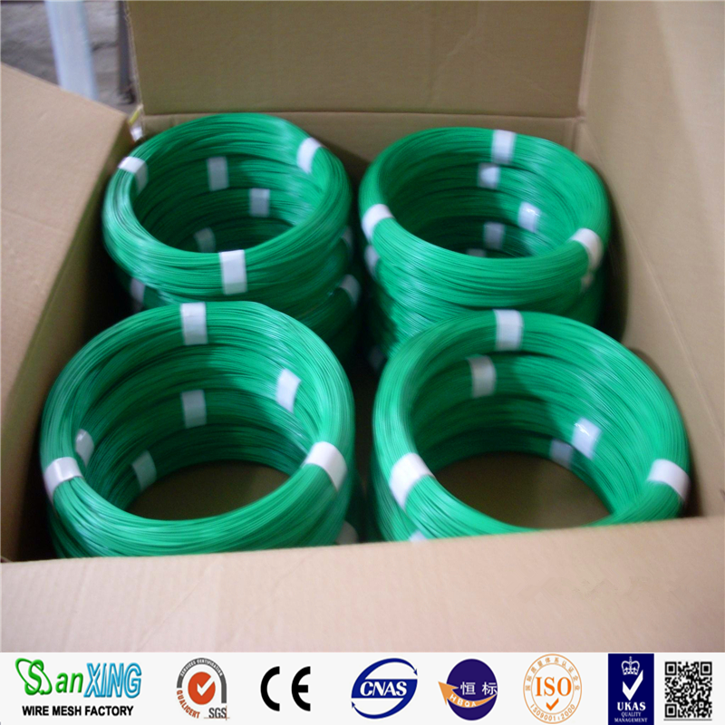 1.2mm/1.6mm Pvc Coated Tie Wire / Plant Binding Tie / Plastic Twist ...