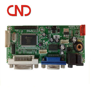 VGA DVI interface 1920*1200 AD driver board For tft lcd display